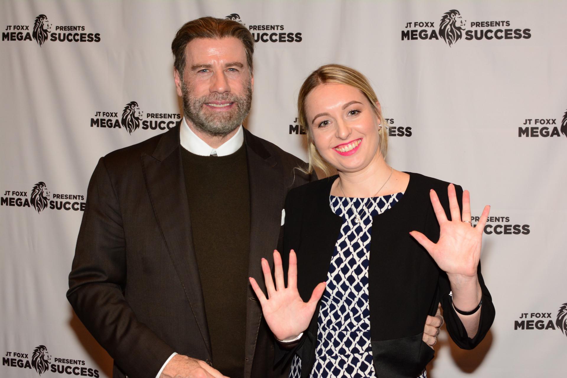 John Travolta & Nadia Redmer